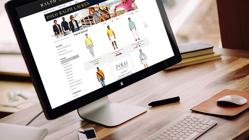 eCommerce Website: Ralph Lauren